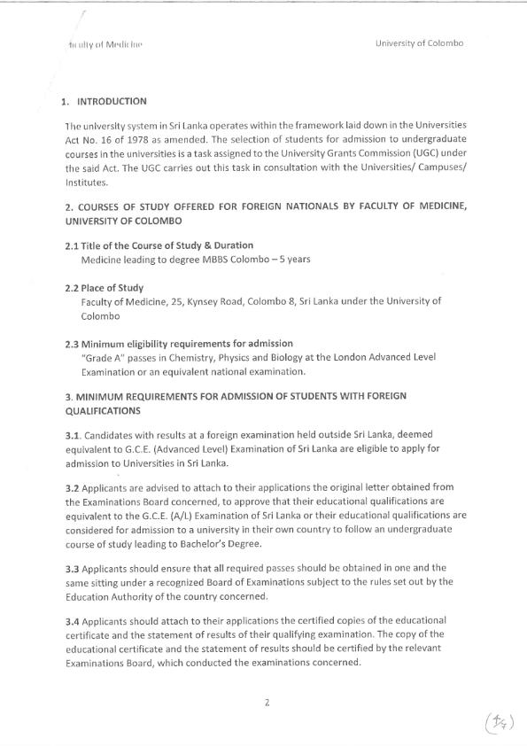 Awareness building international intake of Undergraduate programme in faculty of Medicine 002