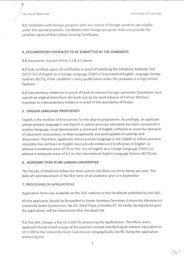 Awareness building international intake of Undergraduate programme in faculty of Medicine 003